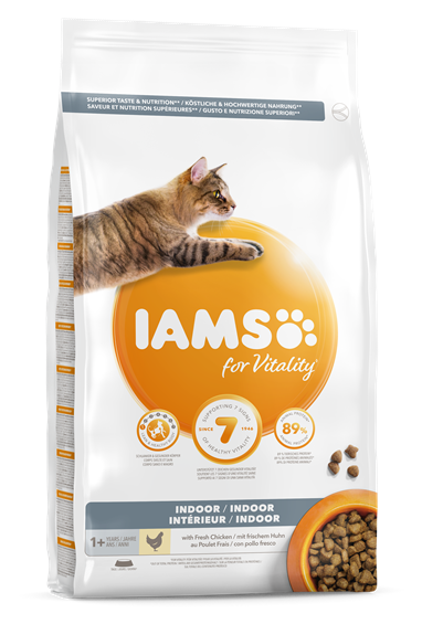 IAMS for Vitality Indoor Cat with Fresh Chicken